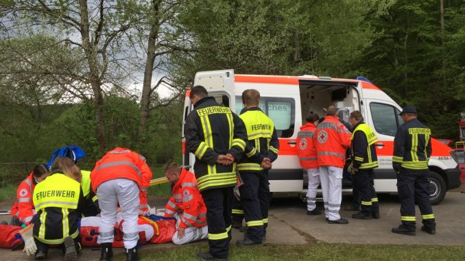 Ausbildungslager VG Daun Üdersdorfer Stausee 20.05.2017